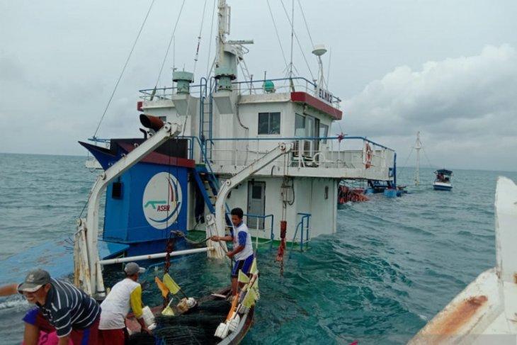 Kapal kargo Sunda Kelapa - Pontianak tenggelam di perairan Belitung