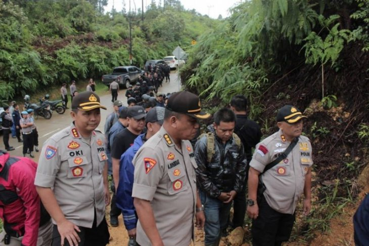 Banten police shut down 10 illegal gold-mining pits in TNGHS