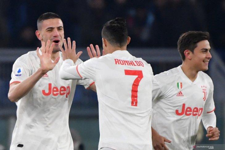 Juve kembali geser Inter untuk puncaki klasemen