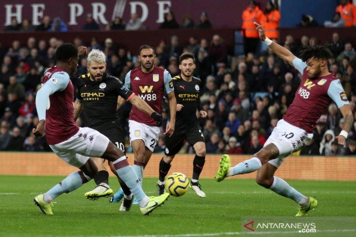 Manchester City bantai Aston Villa 6-1