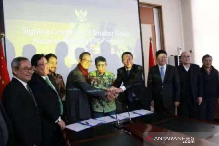 Konsorsium Indonesia - China bangun smelter di Mempawah senilai 695 juta USD