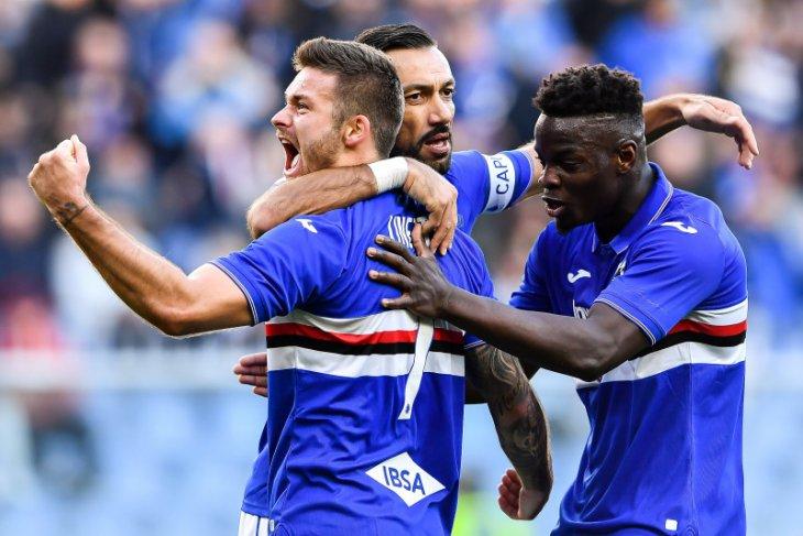 Sampdoria menang telak 5-1 atas Brescia