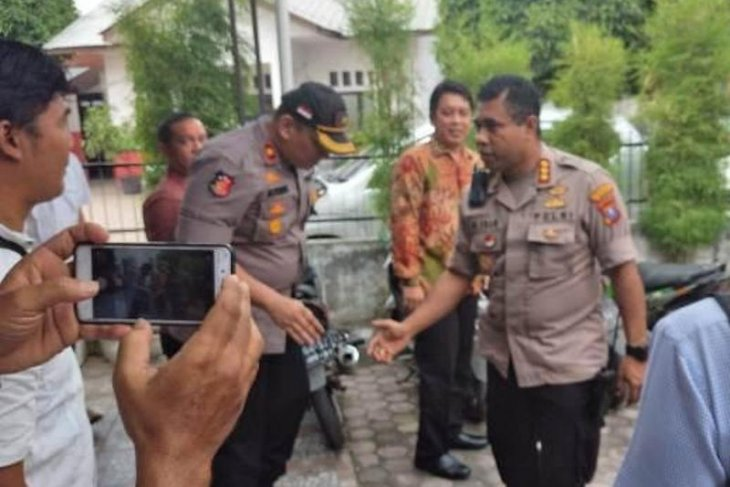 Kapolrestabes perkuat komunikasi  dengan KPU Medan