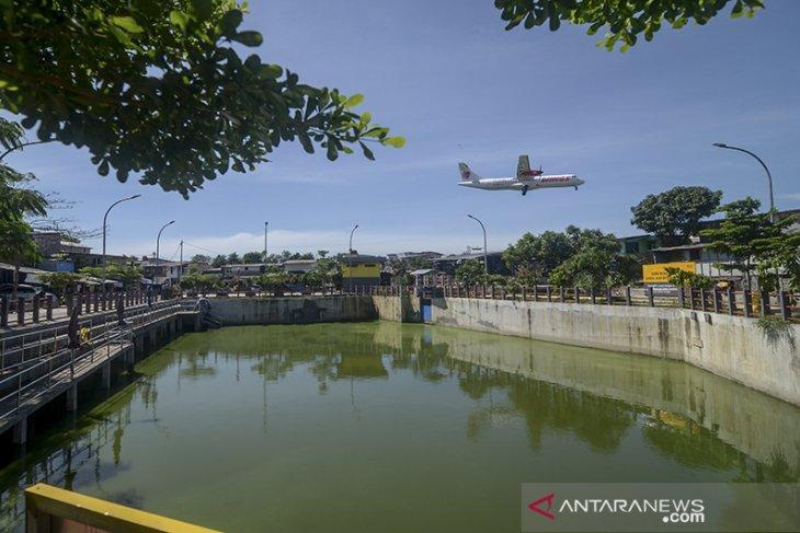 Penambahan kolam retensi di Bandung