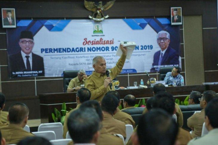 Sekda minta pejabat di lingkungan Pemerintah Aceh serius bekerja