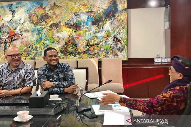 Majukan sektor perikanan, Bupati Rocky jumpai Menteri Perhubungan