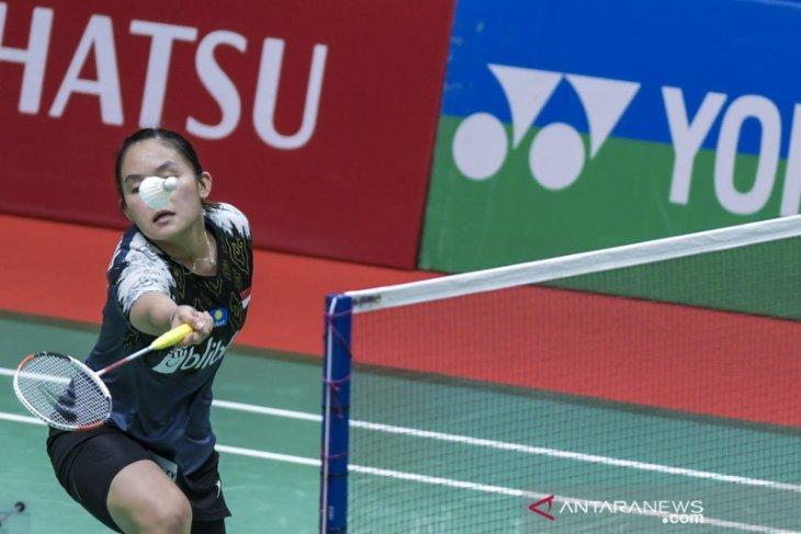 Pebulu tangkis tunggal putri Indonesia Ruselli bertekad perbaiki performa
