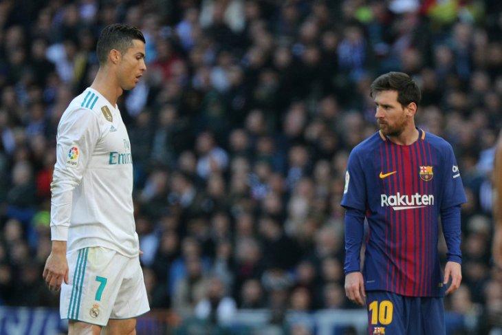 Messi anggap persaingan dengan Ronaldo
