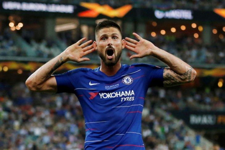 Chelsea dan Inter sepakat 7 juta pound untuk transfer Giroud