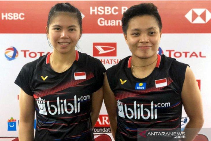Greysia/Apriyani juarai Thailand Open 2021