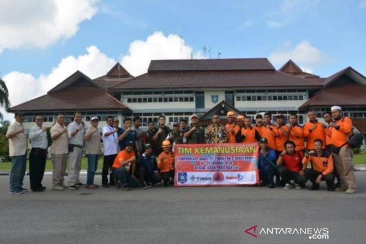 Pemprov berangkatkan tim relawan Babel Peduli ke Lebak Banten