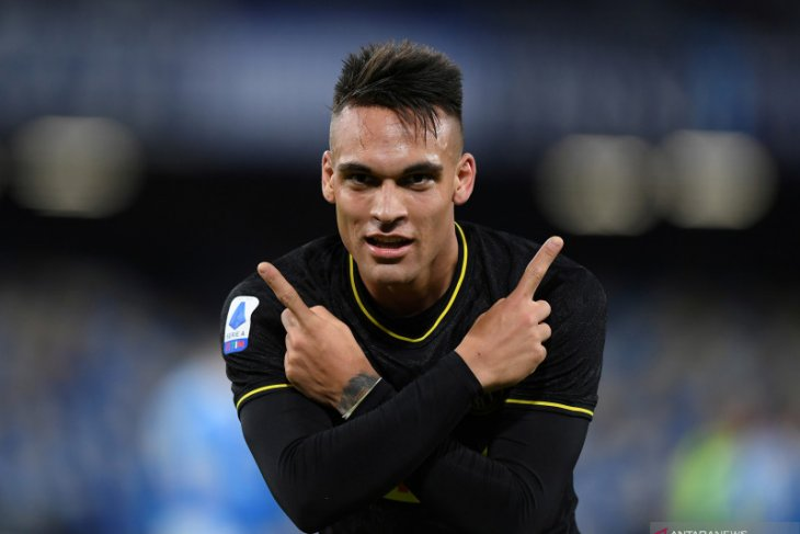 Liga Italia - Diminati klub-klub raksasa Eropa, Lautaro Martinez masih betah di Inter Milan