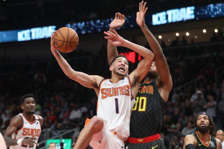Basket, NBA - Trio Suns bukukan 80 poin demi taklukkan Knicks