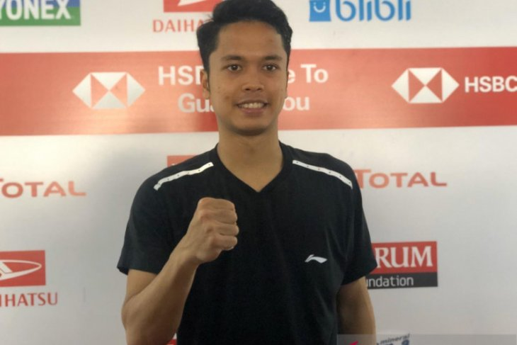 Anthony ke semifinal Indonesia Masters