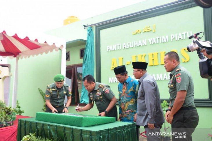 Pangdam VI/Mlw Resmikan Panti Asuhan Yatim Piatu Al-Ikhlas