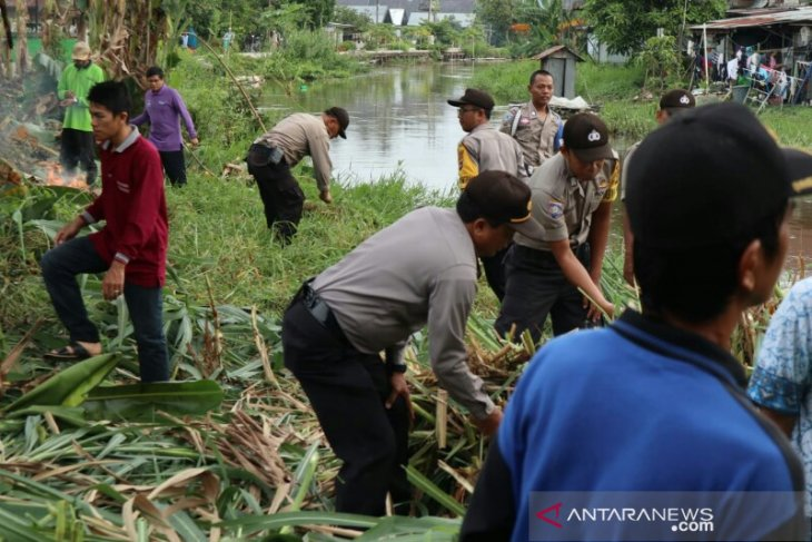 Kepolisian gelar PUBER di aliran Sungai Alabio