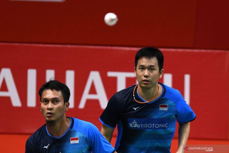 Ahsan/Hendra kalahkan juniornya ke final Indonesia Masters