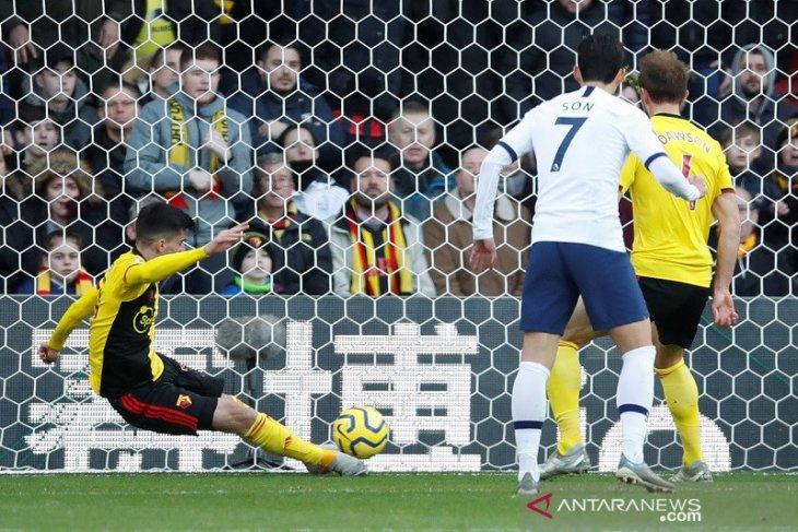 Banyak peluang terbuang, Tottenham dan Watford harus puas berbagi poin