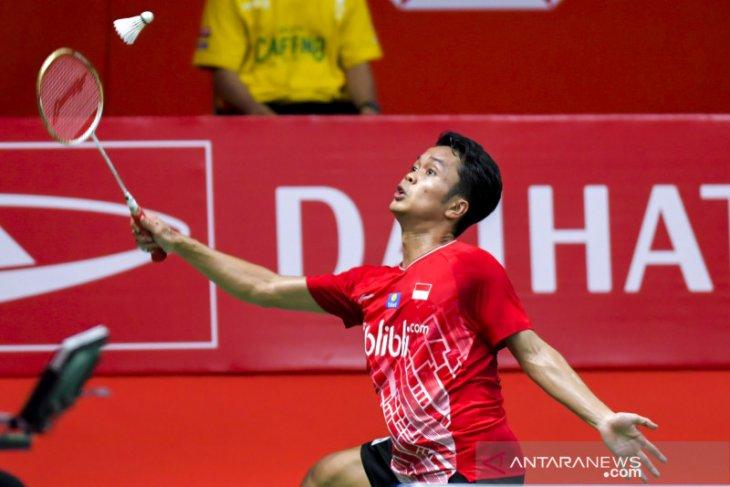 Anthony Ginting  juara Indonesia Masters 2020