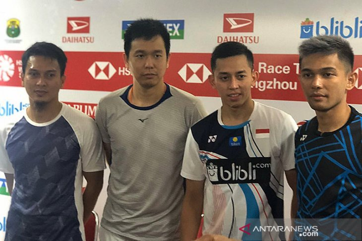 Ahsan/Fajar bawa Indonesia  juarai  Badminton Asia Team Championships