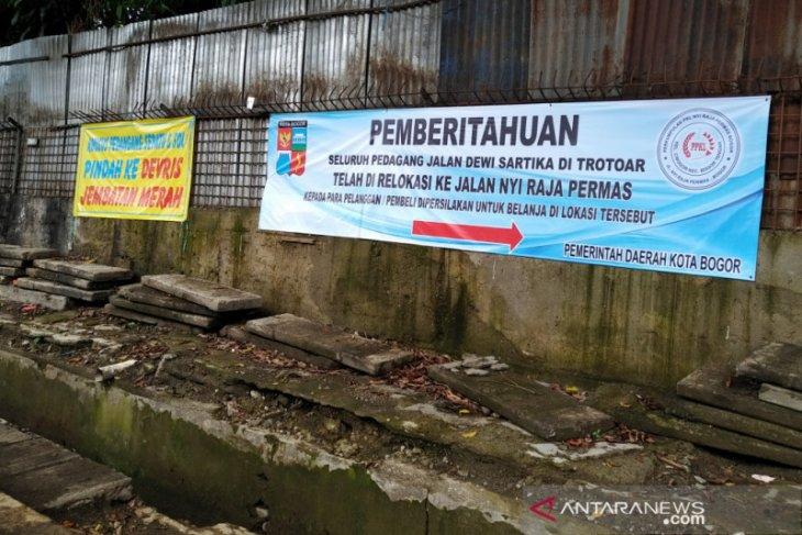 Pemkot Bogor naikkan derajat PKL jadi pedagang kios dengan relokasi