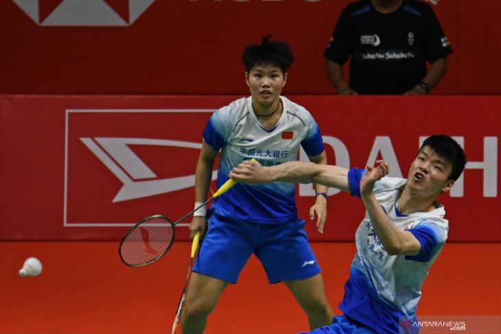 Ganda campuran Wang/Huang raih emas bulu tangkis Olimpiade Tokyo