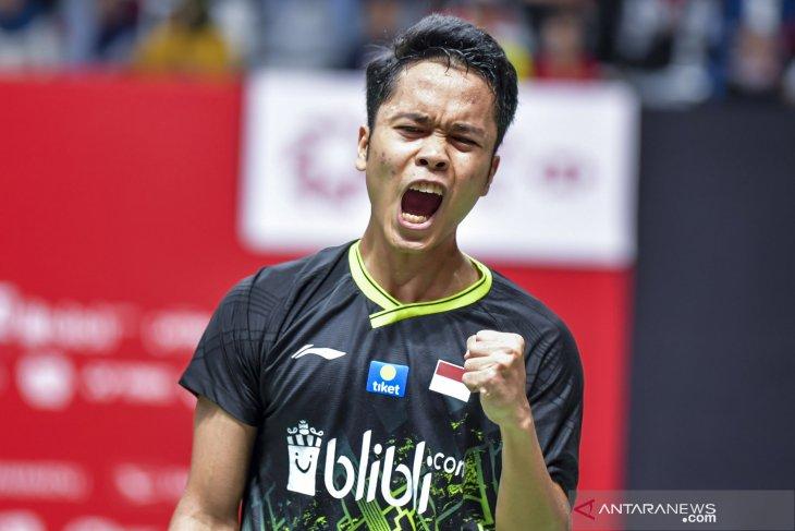 Hari ketiga Thailand Open : delapan wakil Indonesia ke 16 besar