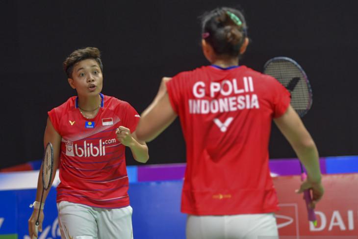 Greysia/Apriyani lawan pasangan Stoeva di final turnamen Barcelona