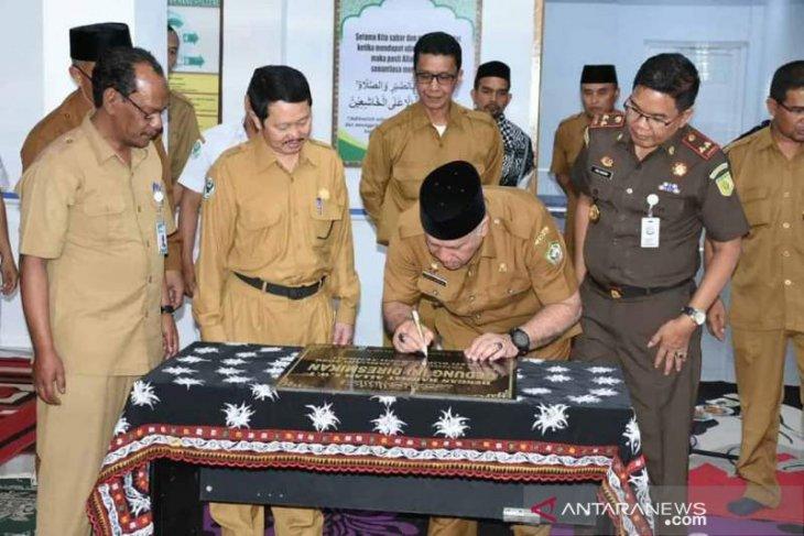Bupati resmikan gedung rawat inap penyakit dalam pria RSUD Takengon