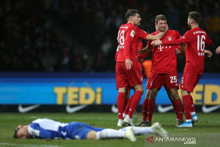 Bayern rebut peringkat kedua susai tundukkan Hertha