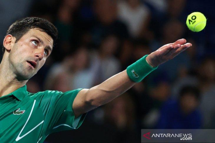 Djokovic lewati putaran pertama