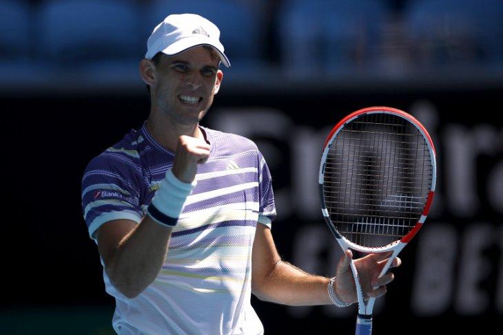 Thiem jadi penantang Djokovic di babak final Australia Open 2020