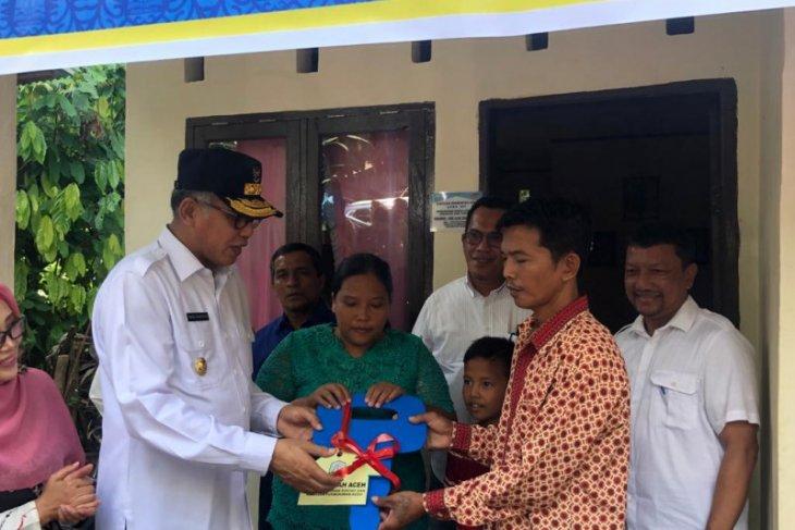 Pemerintah Aceh bangun 4.006 unit rumah layak huni 2019