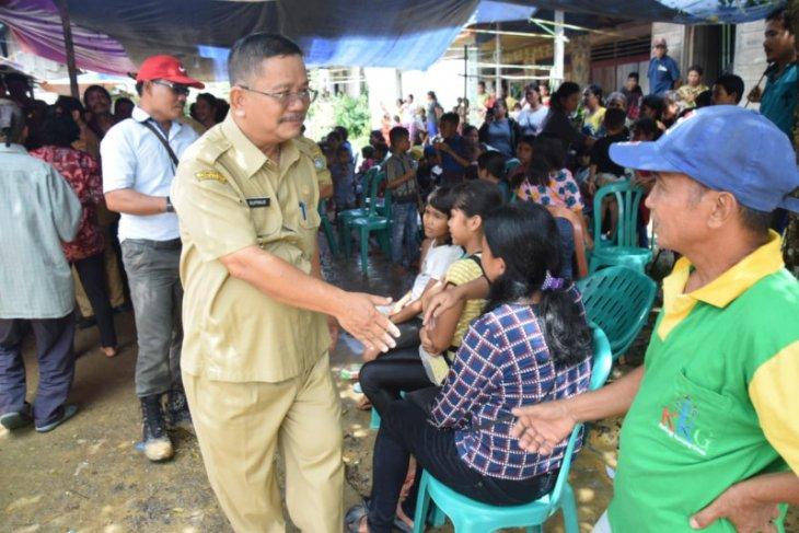 Bupati Rupinus hadiri syukuran kades terpilih Desa Sunsong