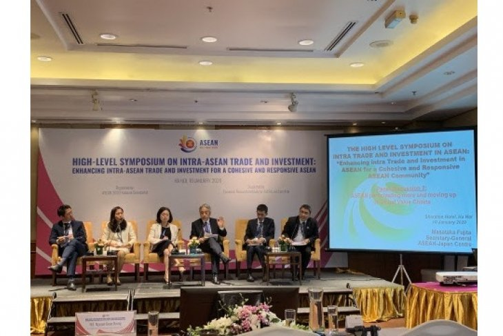 AJC's study on GVC presented at the high-level symposium on Intra-ASEAN Trade and Investment held in Hanoi