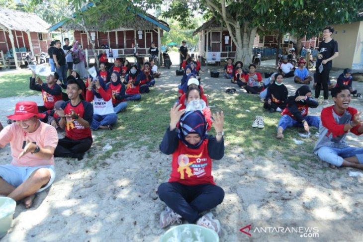PMI hibur para staf dan relawan yang bertugas selama bencana Sulteng