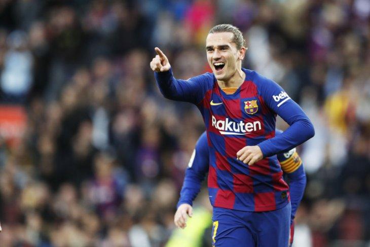 Griezmann penyelamat Barca dari hasil memalukan di Copa del Rey
