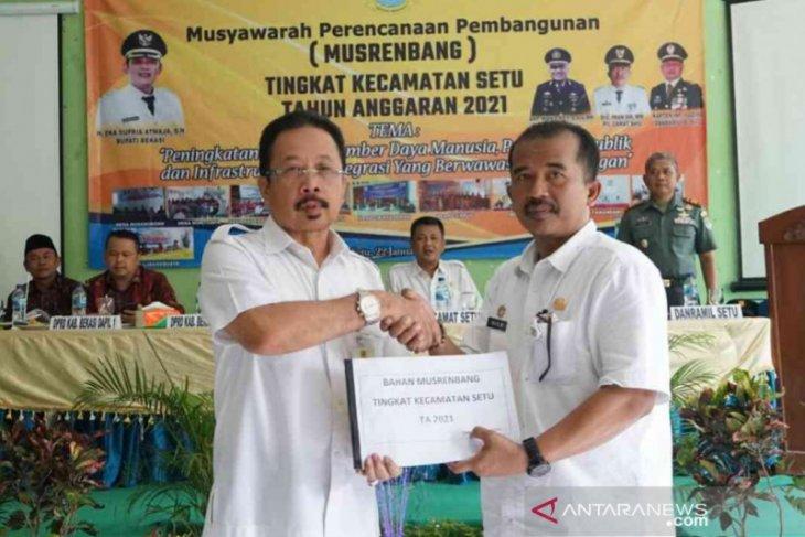 Pemkab Bekasi rencanakan pemerataan pembangunan melalui Musrenbang