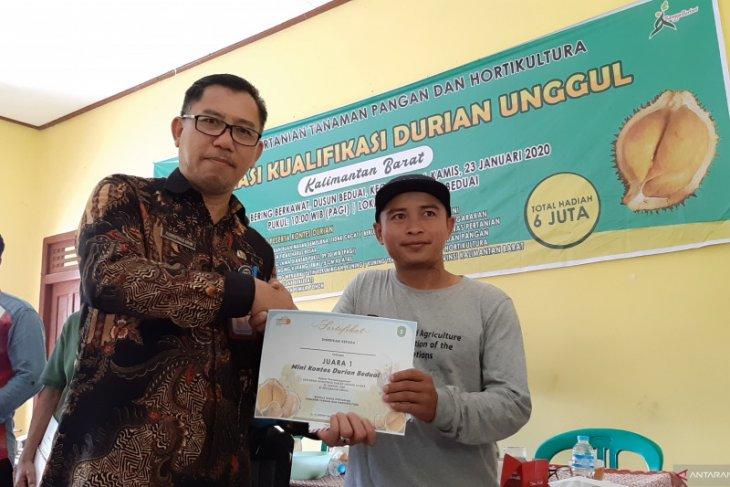 Distan Kalbar jembatani kemitraan petani durian - industri