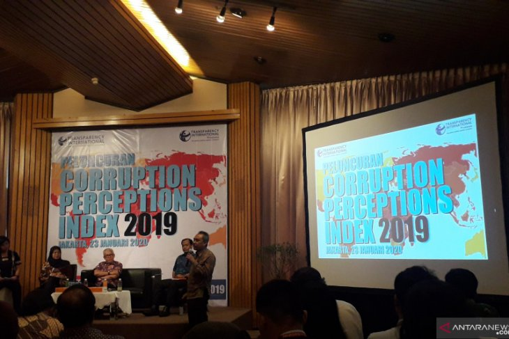 Indonesia's CPI score dropped three points in 2020