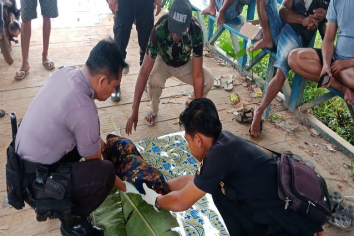 Penemuan mayat bayi di Sungai Seruyan Kalteng gegerkan warga