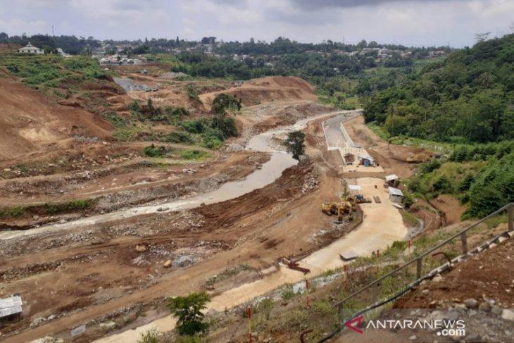Pembebasan lahan sempat hambat pembangunan Bendungan Ciawi