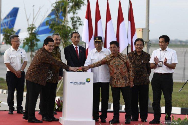 Berita kemarin, Jokowi resmikan