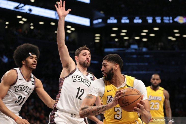 Basket, NBA - LeBron hasilkan triple-double saat Lakers benamkan Nets