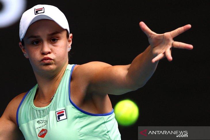 Australia Open - Petenis peringkat satu dunia  Barty melaju ke putaran keempat