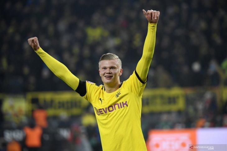 Liga Jerman, dwigol Haaland bantu Dortmund hantam Koln
