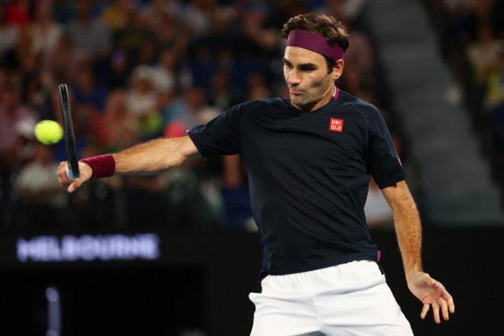 Australia Terbuka: Federer optimistis dan bahagia meski terhenti di semifinal