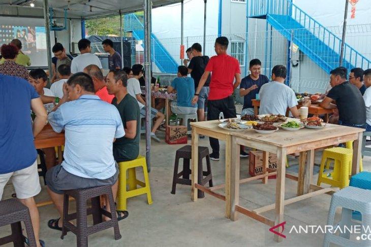 TKA Tiongkok di Gorontalo Utara rayakan Imlek dengan sederhana