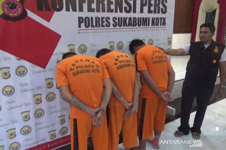 Ini tiga pelaku pemicu bentrokan antardua ormas di Sukabumi