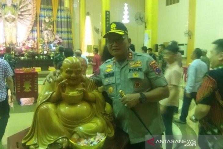 Kapolda sebut perayaan malam Imlek di Sumut aman